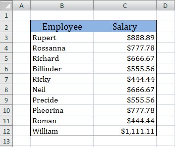 remove duplicates excel