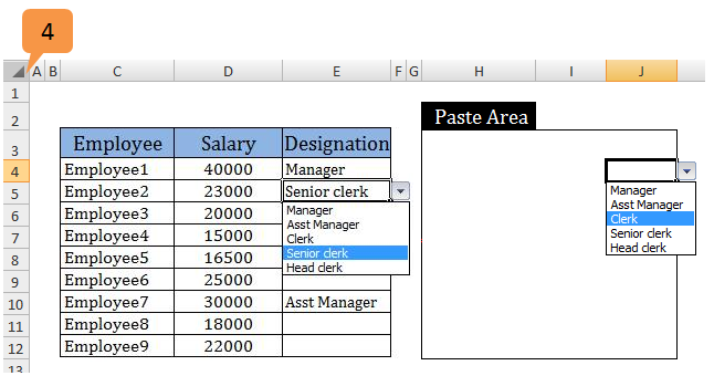 paste special in excel 2007