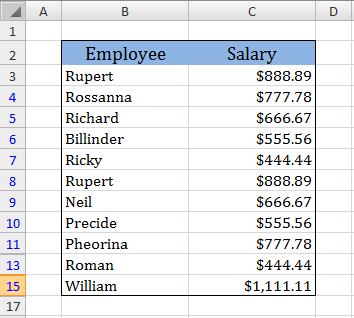 advanced filtering in excel